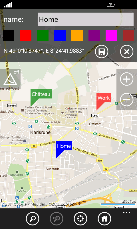 Simple OSM - Maps for Windows Phone 7